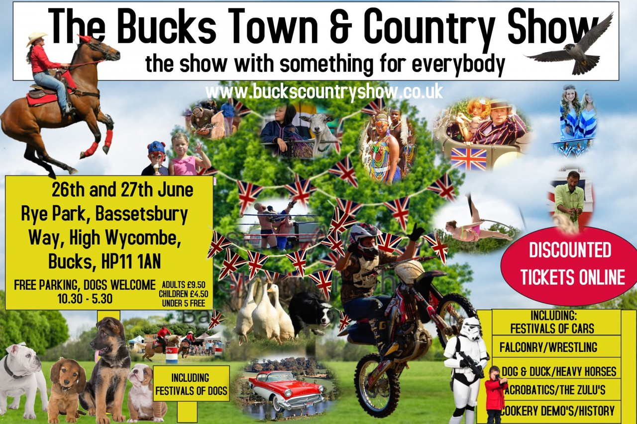 WrestleForce to be a part of the Bucks Country show on June 26th and 27th!