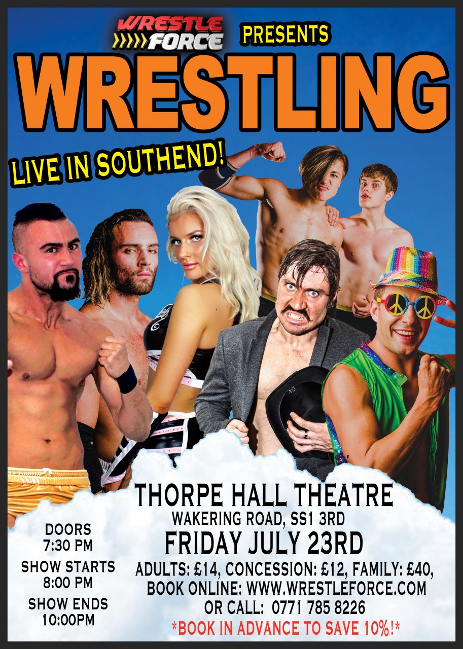 July 10th Southend show moved to Friday July 23rd!