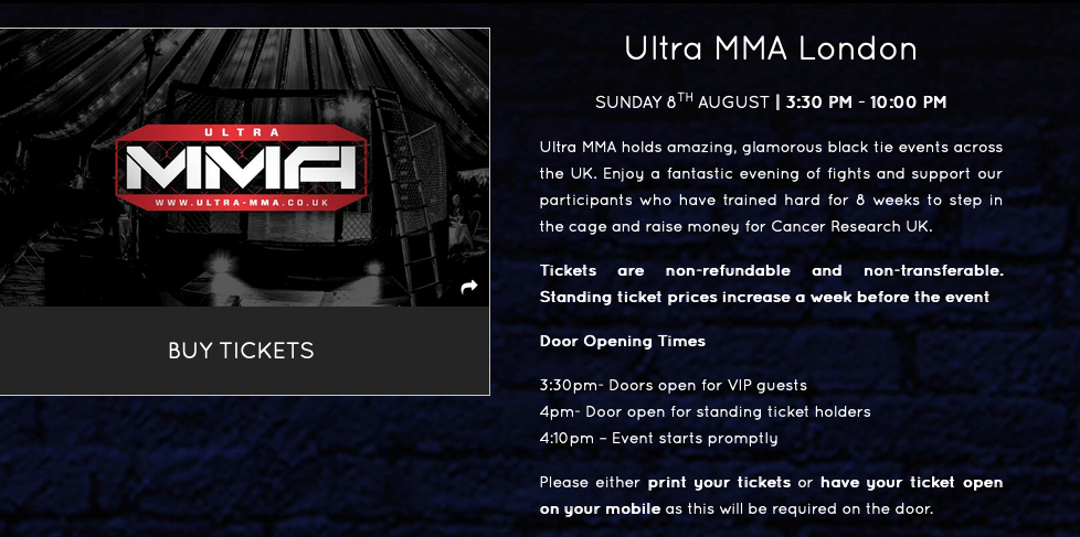Mark Trew to participate in an MMA fight for charity!