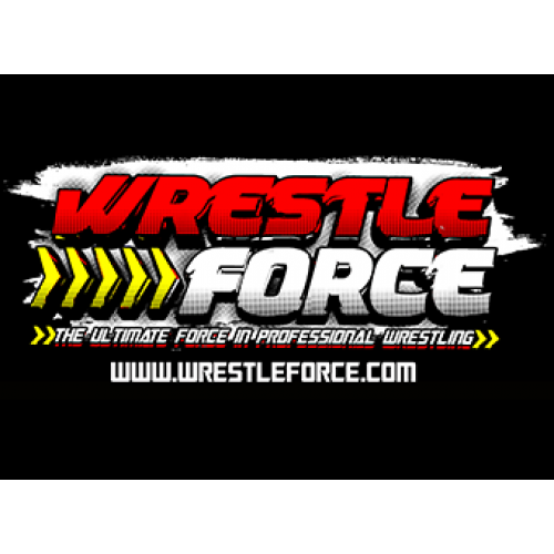 WrestleForce black T-Shirt